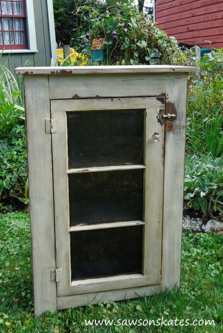 diy basement window cabinet 1