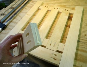 Assembling DIY Dog Gate