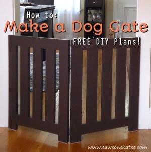 How to Make a Dog Gate