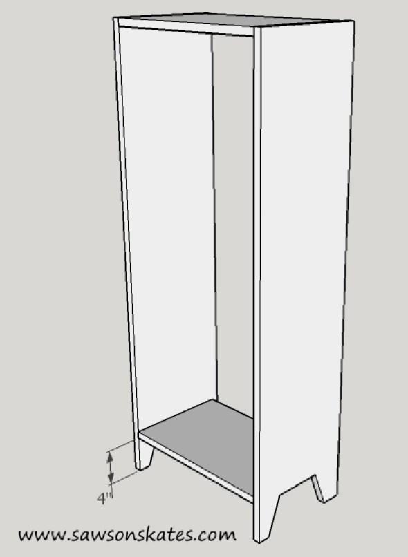 Jelly Cupboard case assembly
