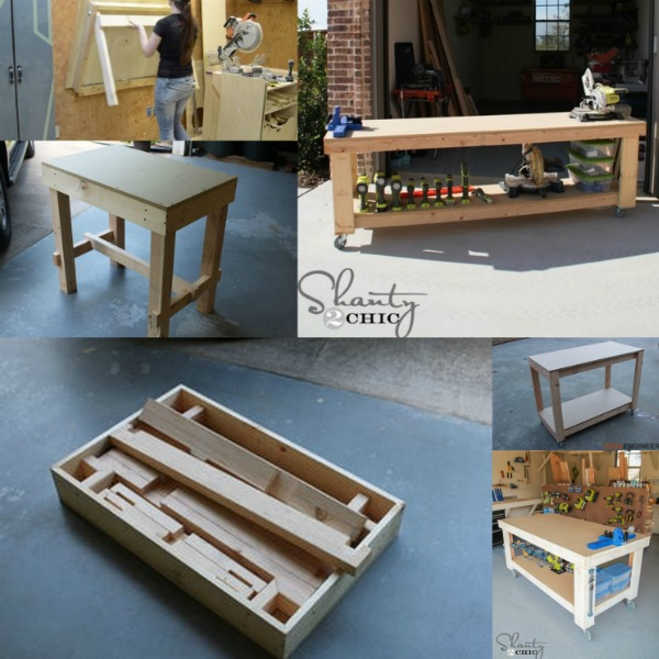 5 Workbench Ideas for a Small Workshop