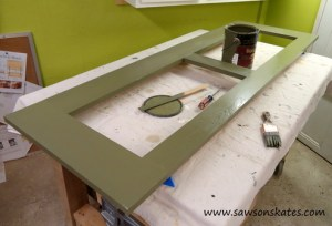 bilco frame stained