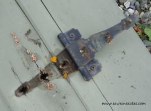 bilco rotted hinge