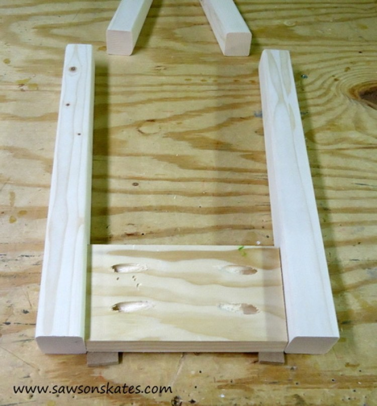 Stool Side Assembly 2