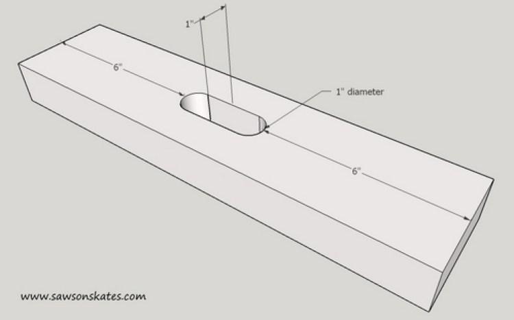Stool Sketch Handle