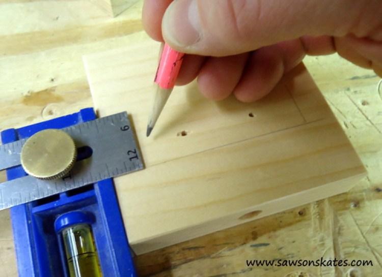 stocking holder building layout