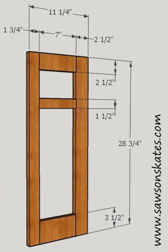 Fireplace Side Panel Frame