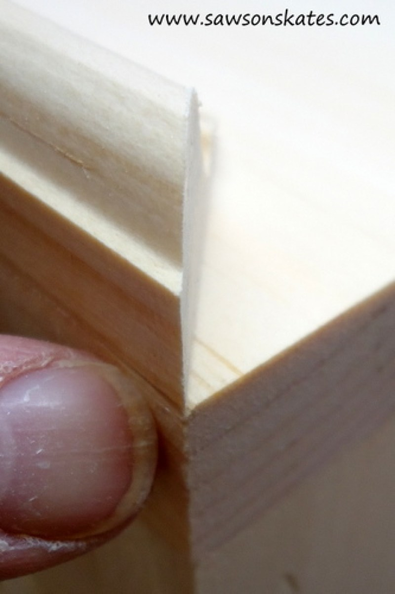 how to miter cut 1