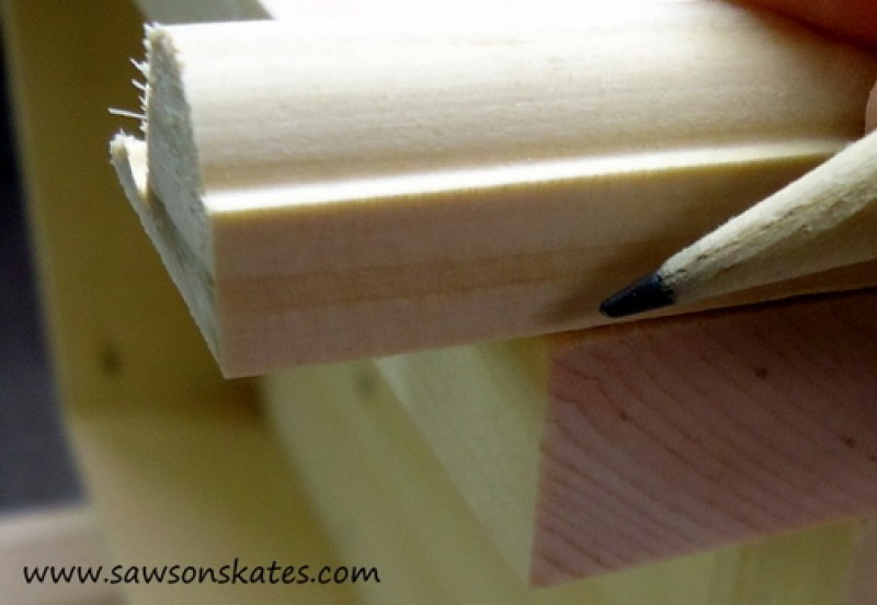 how to miter cut 4