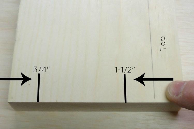 folding workbench side apron pocket hole locations