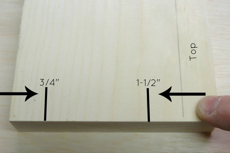 folding workbench side apron pocket hole locations