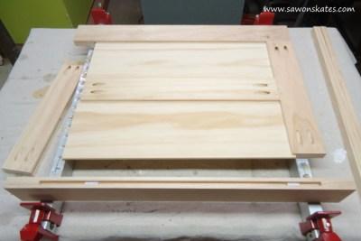 vanity door assembly 1