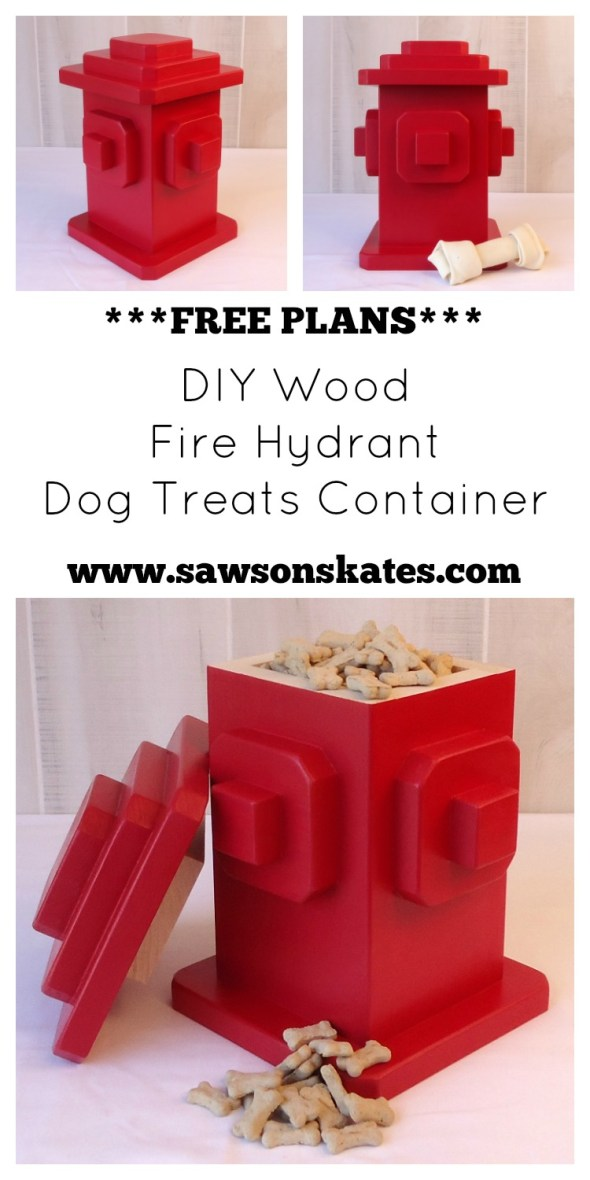 DIY Dog Treats Container