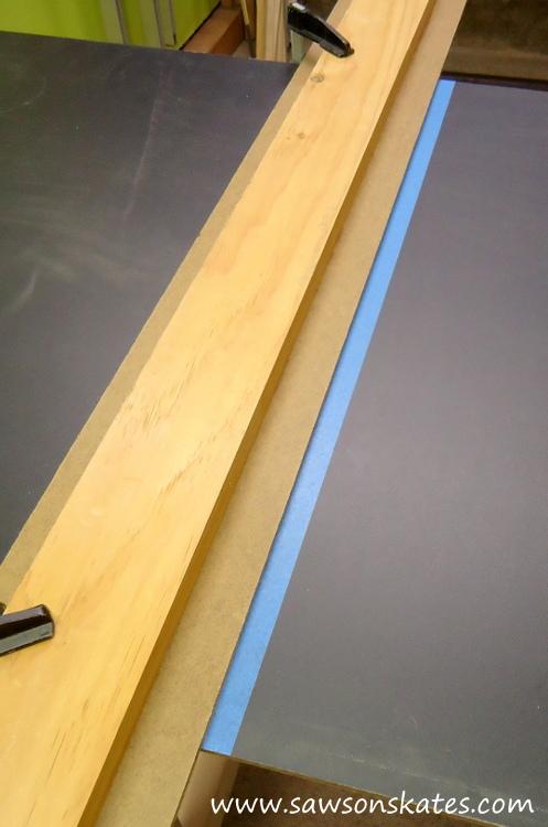 diy chalkboard back