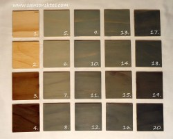 How to Create the Perfect Grey Stain - Swatches compared