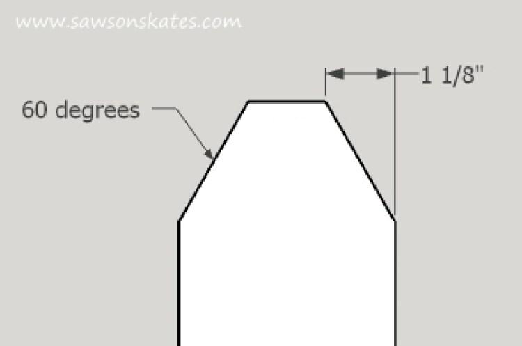 diy tool caddy angle detail