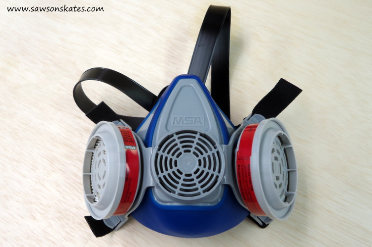 how to sand dust mask