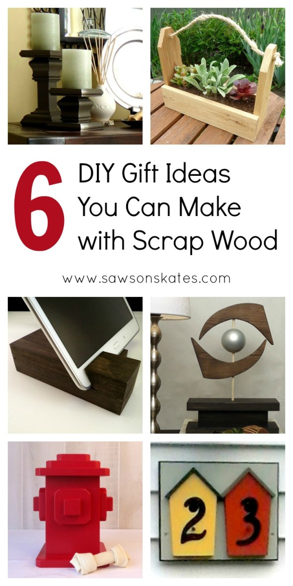 6 scrap wood diy gift ideas pin