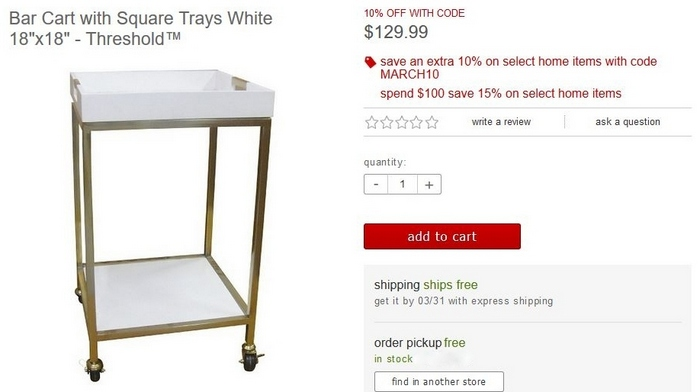 My Thought Was To Ditch The White Plastic Look Tray. Instead, My DIY Bar  Cart Would Feature A Vintage Industrial Look, An Early American Stained  Wood Tray ...
