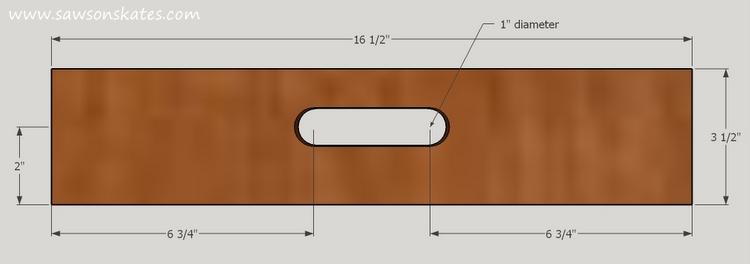 diy bar cart tray side handle