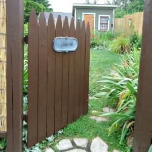 DIY Rustic Garden Gate