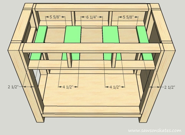 diy-kitty-litter-cabinet-drawer-supports
