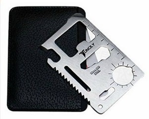 Credit Card Survival Tool - 48 Most Wanted Tools and Products Gift Guide for the DIYer - sawsonskates.com