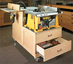 6 Diy Table Saw Stations For A Small Work Workstation By Notes