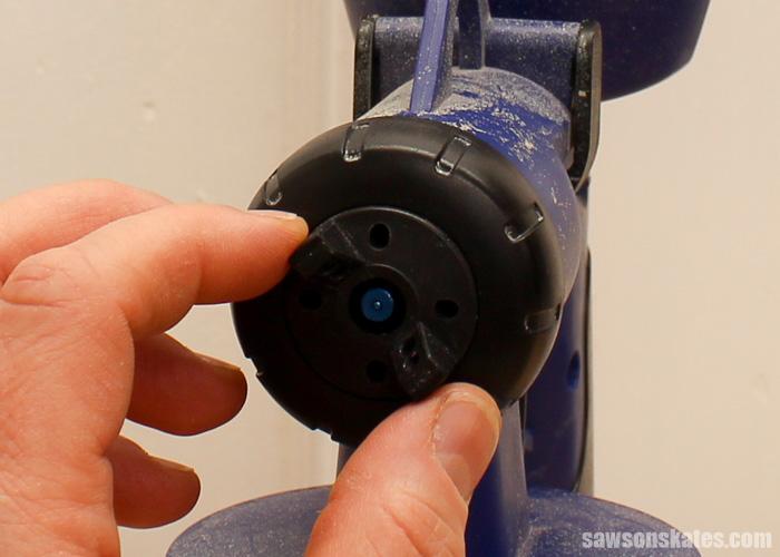 How to spray polyurethane - horizontal/vertical spray pattern