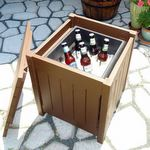 Why Building DIY Furniture isn't Always About Saving Money - Beverage Table