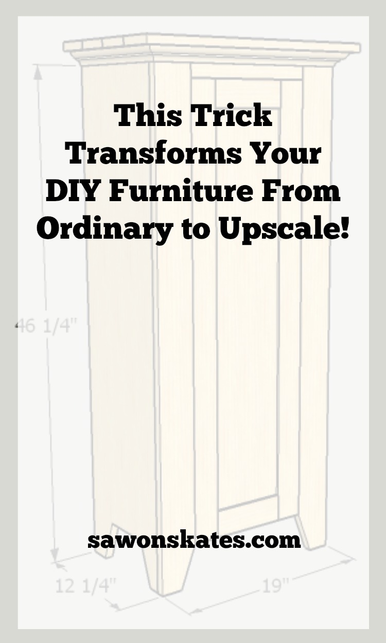 Looking for ideas to add style and give your DIY furniture an up scale look? Add a book-matched panel! Learn how to make them with this easy tutorial.