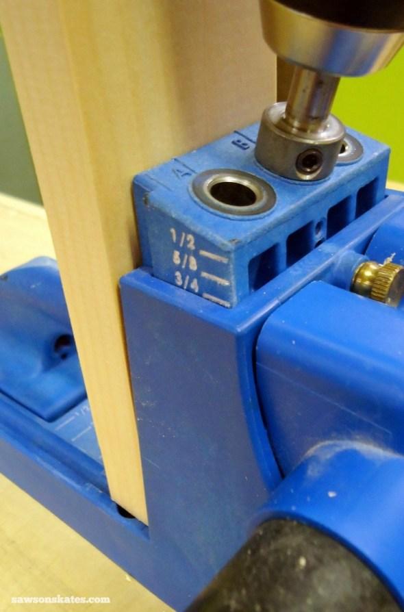 Rookies Guide to Building DIY Furniture - Kreg Jig for pocket holes