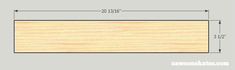 Looking for screen door ideas? Build your own wooden DIY screen door with these plans - cut the top rail