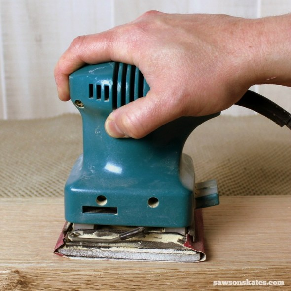 3 Tips Why You Should NEVER Use a Palm Sander