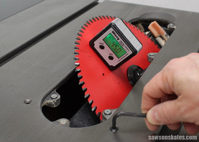 Best Way To Set Table Saw Blade Angle For Precision Cuts