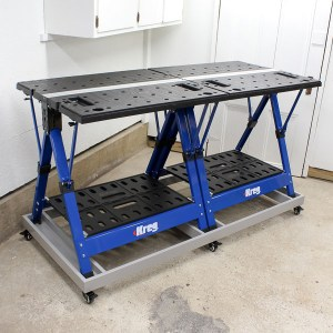 DIY Base Transforms Mobile Project Center into Ultimate Workbench