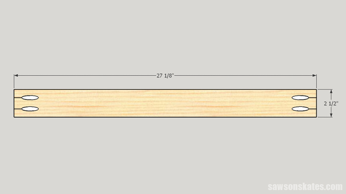 Cut the Cradle Rails for the ultimate workbench