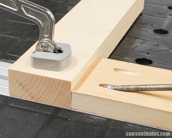"""Pocket Hole Joints - There's a simple """"rule"""" to remember when joining different thicknesses and that rule is """"Think Thin"""""""