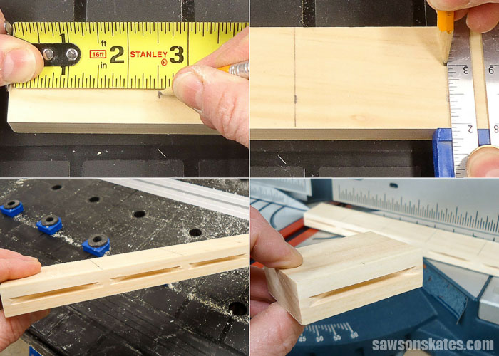 A wood table top can be attached with DIY table top fasteners