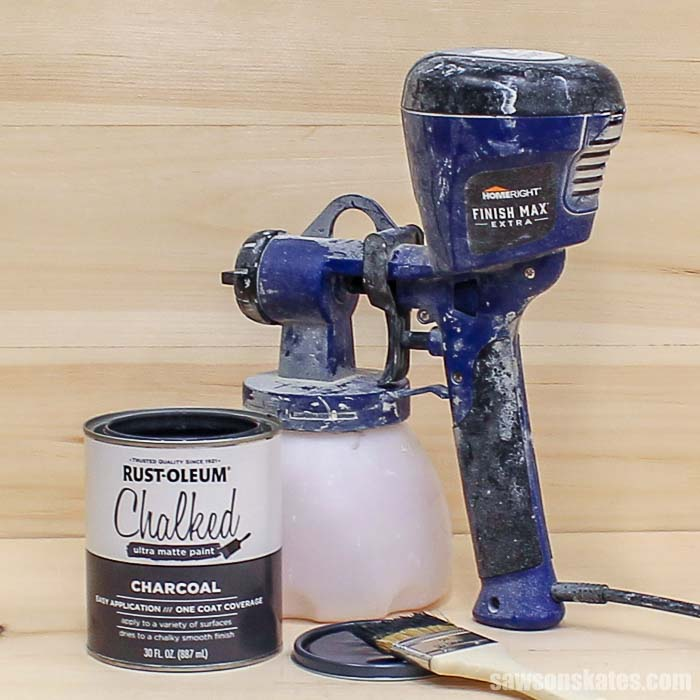 The Beginner's Guide to Spraying Chalk-Style Paint | Saws on