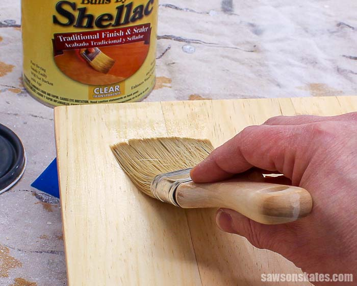 Shellac is a warm colored finish for wood that's easy to apply with a rag, brush or sprayer. It dries quickly so multiple coats can be applied in one day.