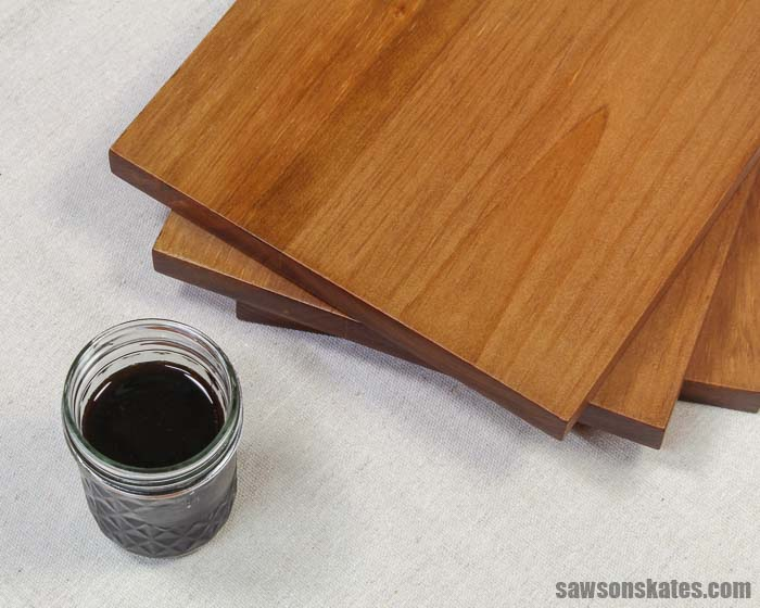 Make your own wood stain from black walnuts! This water-based stain is natural, easy to make, and a simple way for anyone to enhance the beauty of wood.