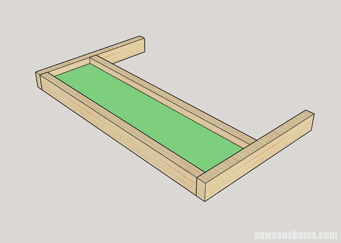 Making a drawer for a DIY bathroom vanity