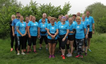 25 of us at Peterborough parkrun