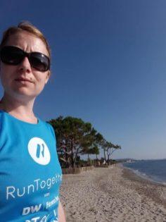 Carol A in Corsica
