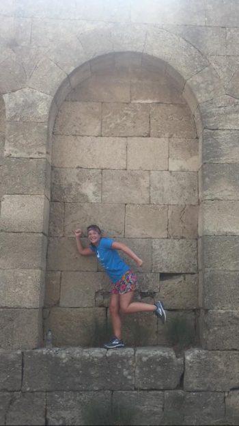 Laura in Rhodes