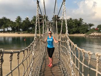 Michelle on Sentosa Island, Singapore