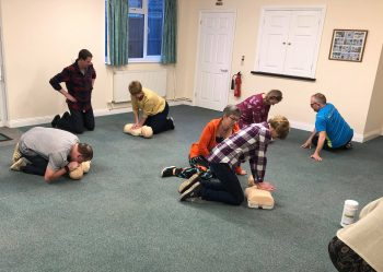 All Leaders & Coaches are now First Aid trained