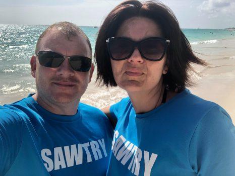 Gemma & Darren in Dominica