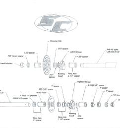 click the picture to enlarge our rear axle diagram [ 2203 x 1690 Pixel ]